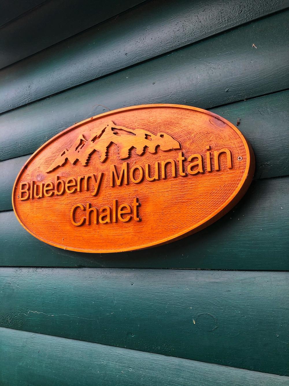 Blueberry Mountain Chalet